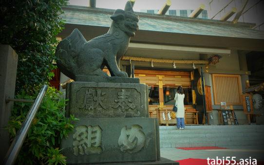 芝大神宮と増上寺(東京都港区)