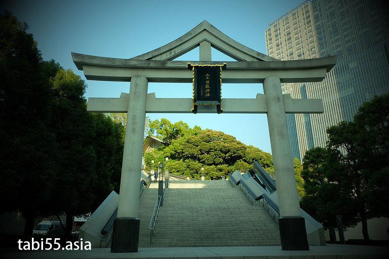 日枝神社(東京都千代田区赤坂)山王鳥居