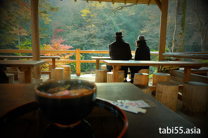 御岳渓谷のお食事は「澤乃井園」がおすすめ