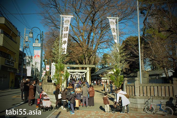 江古田富士(浅間神社)!東京で富士山登山(東京都練馬区)