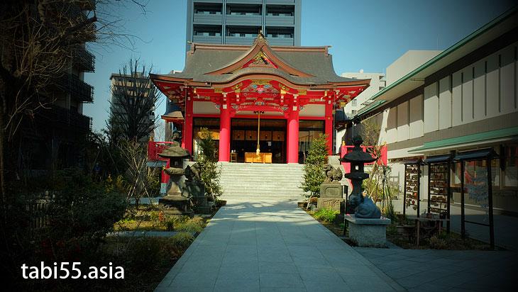 成子天神社にお参り@東京都新宿区