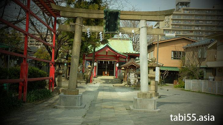 砂町の富士塚(東京都江東区)