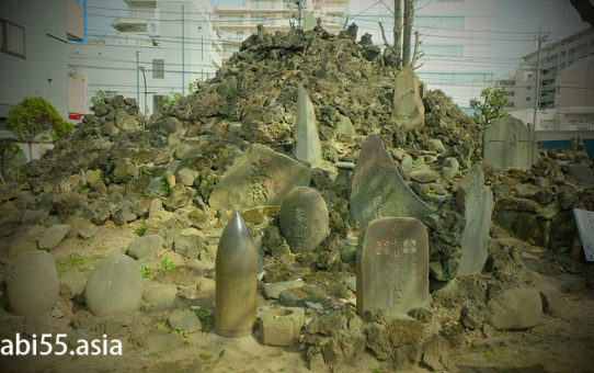 砂町の富士塚(東京都江東区)「砂村浅間神社」の鳥居に注目!