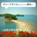 高松からエンジェルロードへ!小豆島を【3時間/日帰り】車なし観光!おすすめは?(香川)