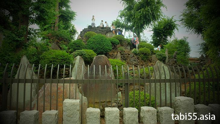 豊島長崎富士塚の山開きで、登山してきました(東京都豊島区)
