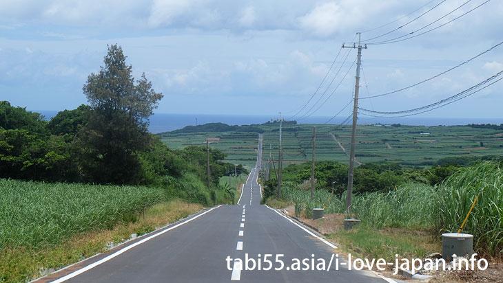 海へのジェットコースター!?1本道@喜界島の観光!行ってよかった【おすすめ】