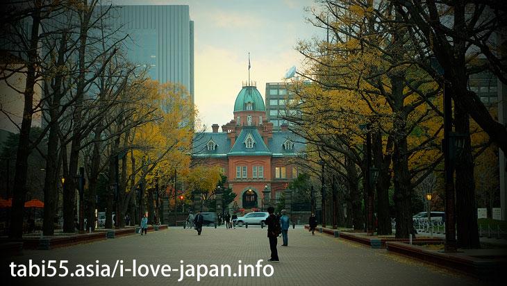 3.赤い星が目印!北海道庁旧本庁舎(赤れんが庁舎)