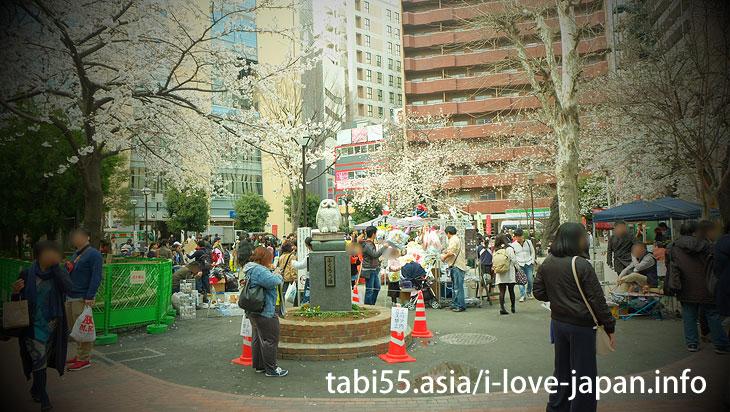 池袋駅東口!徒歩圏内桜の名所