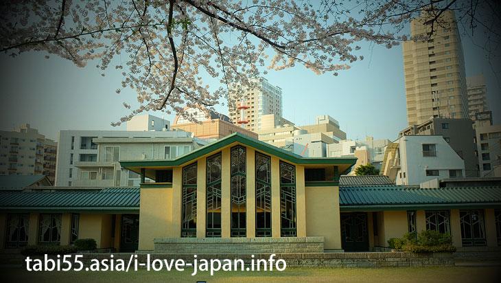 自由学園明日館|池袋の桜の名所