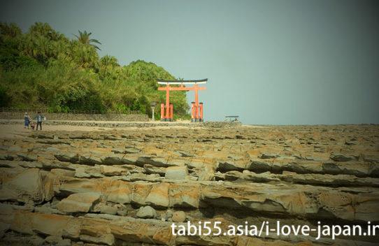 青島神社と鬼の洗濯板を観光(宮崎県)
