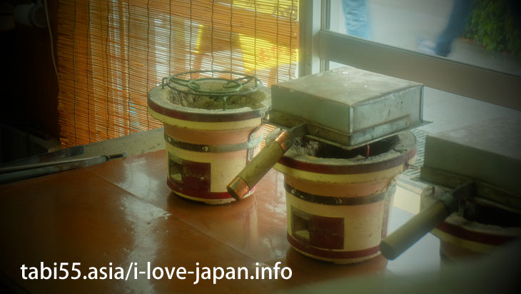 【Looks like Sweets】 thick brown eggs of Obi tea houses