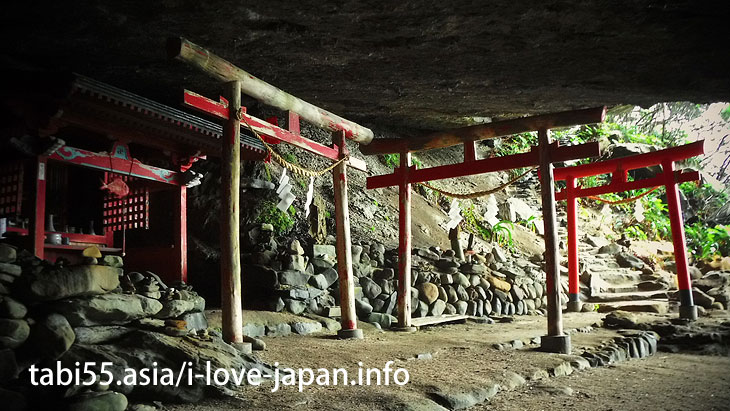 Udo shrine is famous, but let's visit a Namikiri shrine