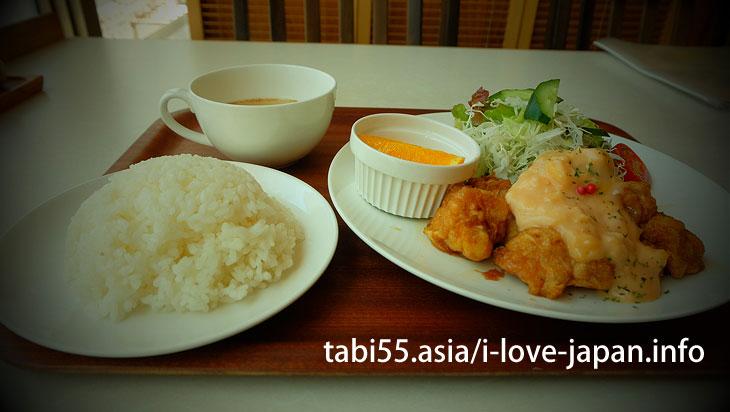 I ate Chicken Nanban near Hyuga-shi station!
