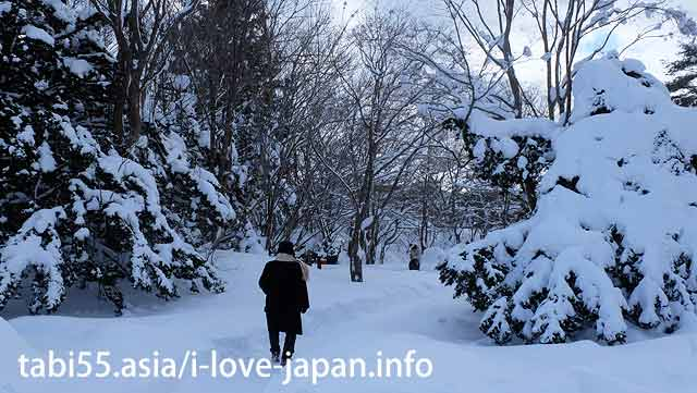 【10: 50】 Onuma Park in winter! Komagatake (mountain) is beautiful