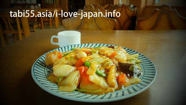 【12: 00】 Onuma specialty food! ♪ Chow mein noodles with starchy sauce for lunch ♪