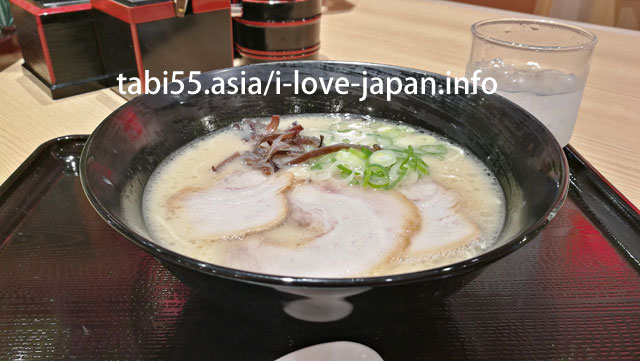 Let's eat Hakata ramen at the ramen runway FUK@Fukuoka airport