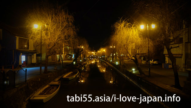 Yanagawa at night is also emotional
