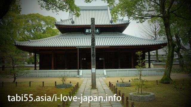 日本最初の禅寺!安国山聖福寺