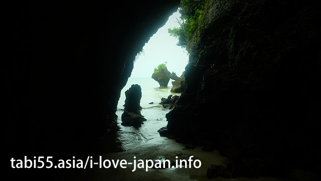 While staying Rain shelter in the SabUchi cave