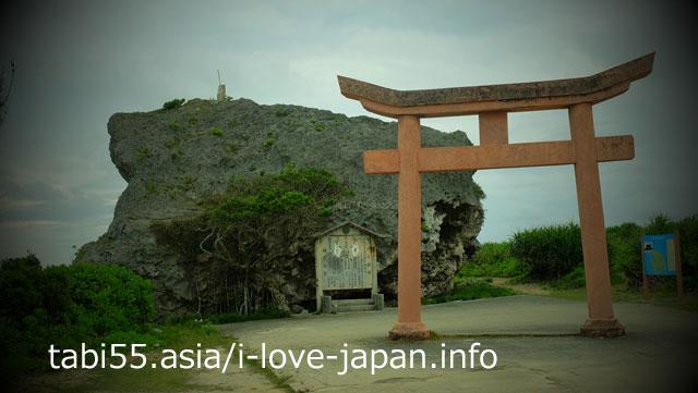 下地島巨石(帯石)