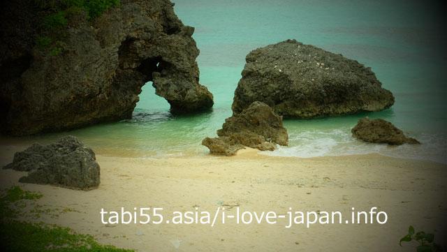 池間島のハート岩(←宮古島ではありません)