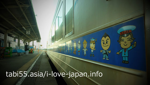 5.A lot of Anpanman at JR Tosa Yamada Station