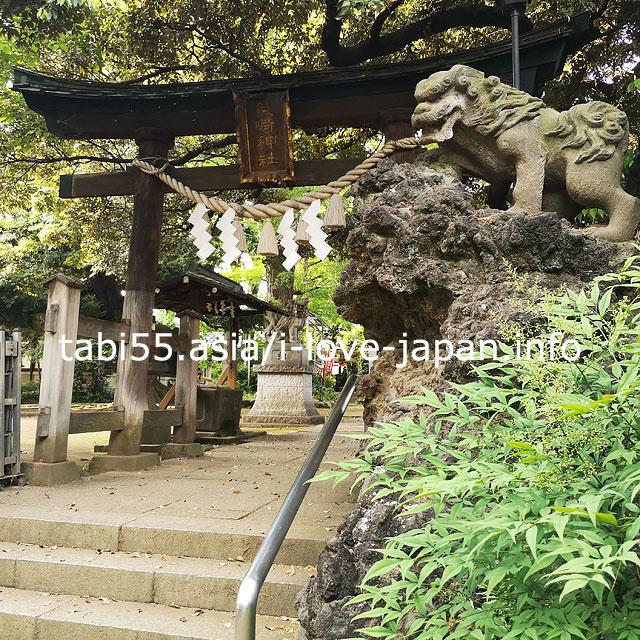 椎名町の守護神!長崎神社