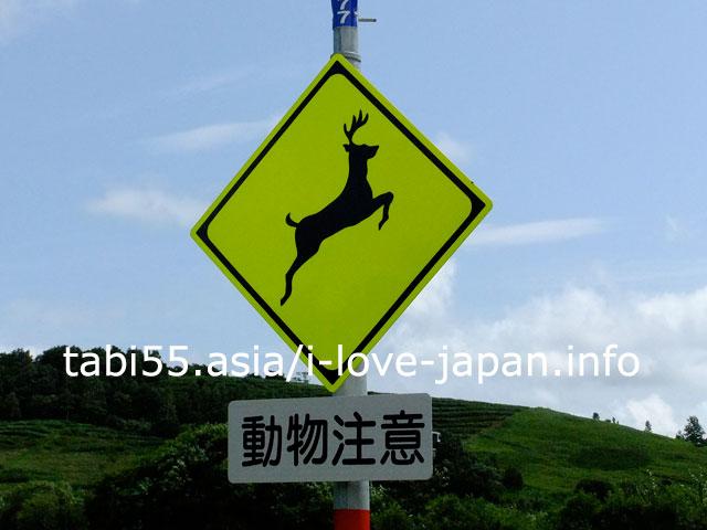 北海道の珍しい交通標識