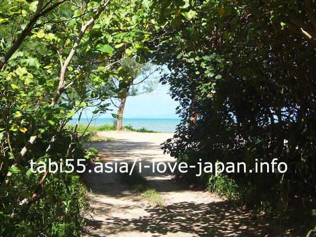レンタルバイクなら、即停まれる!石垣島の絶景