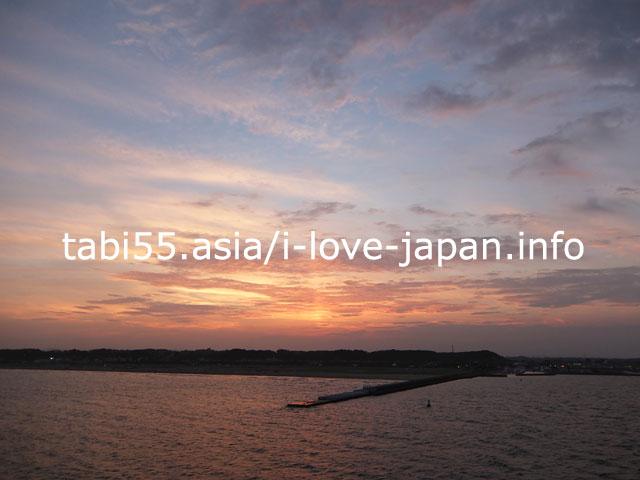 茨城・大洗港から商船三井フェリー「さんふらわぁ さっぽろ」に乗船