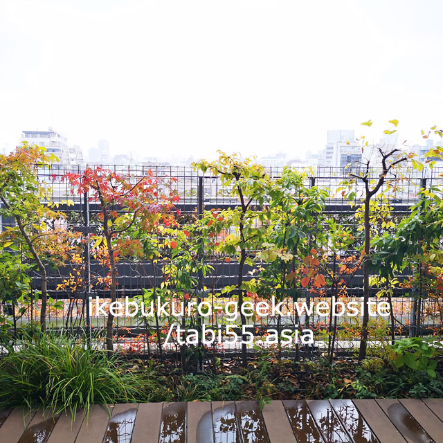 豊島の森+グリーンテラス(豊島区役所新庁舎)