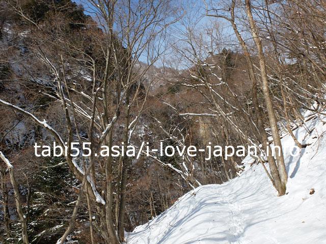 冬の四万温泉で滝めぐり観光