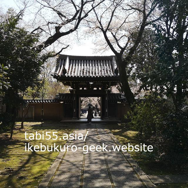 桜の季節には、屋台が並ぶ!威光山法明寺